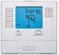 Pro1 Digital 5/1/1 Programmable 2 Heat / 1 Cool Thermostat