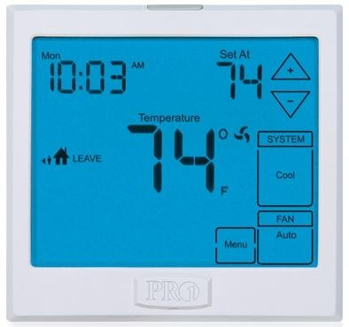 Pro1 Touchscreen Digital 7D Programmable 3 Heat / 2 Cool Thermostat