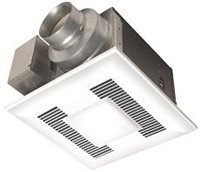 Panasonic WhisperLite 80 CFM Ceiling Mounted Fan/Light