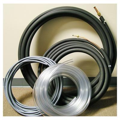"Ductless Mini Split Indoor Installation Kit 35/' 1//4/"" x 1//2/"" Line Set"
