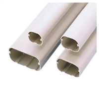 "SlimDuct 78"" Length (3"" W x2-1/2"" D) - Ivory"