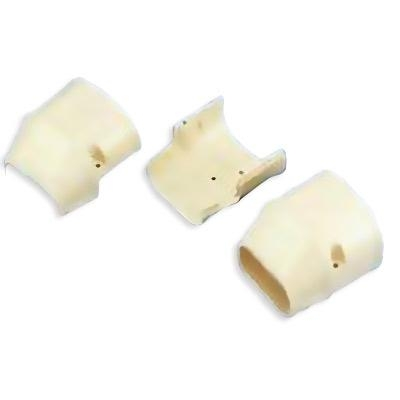 "SlimDuct End Cap (3"" W x 2-1/2"" D) - Ivory"